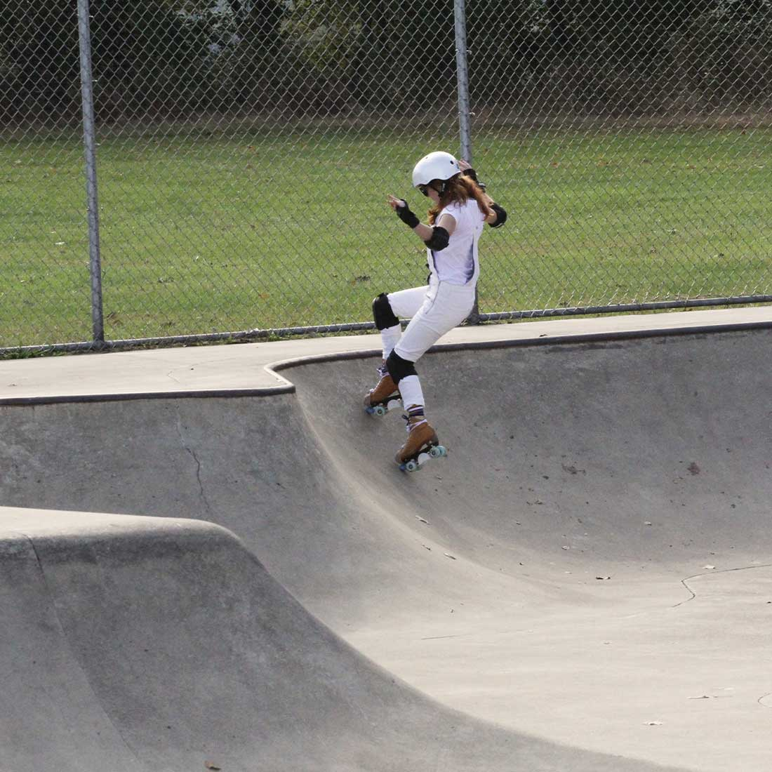 Boyce Park rollerskating
