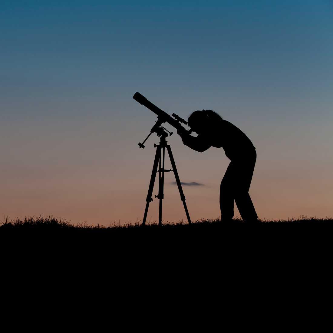 Deer Lakes Park telescope