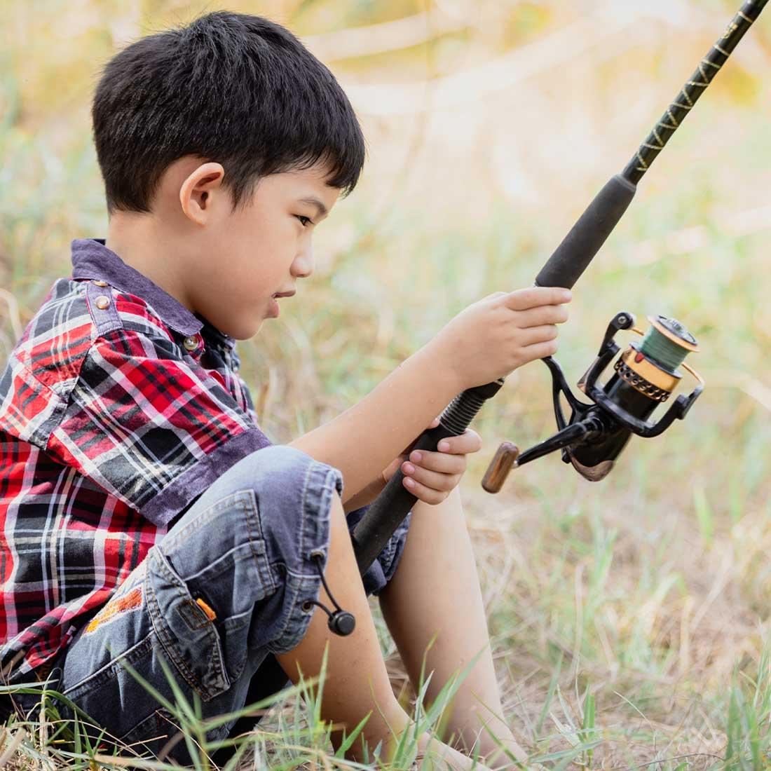 Deer Lakes Park fishing