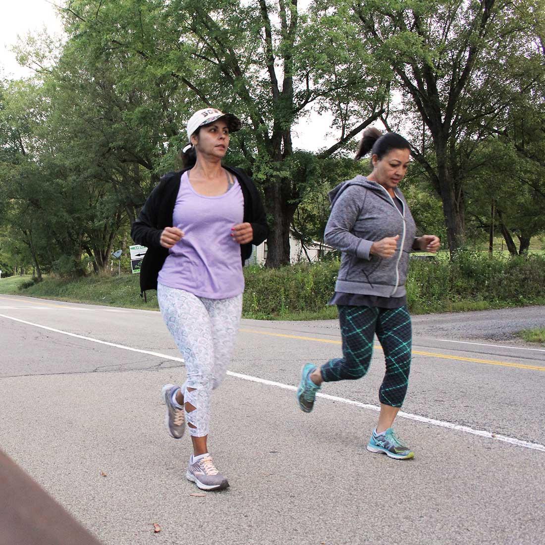 North Park joggers