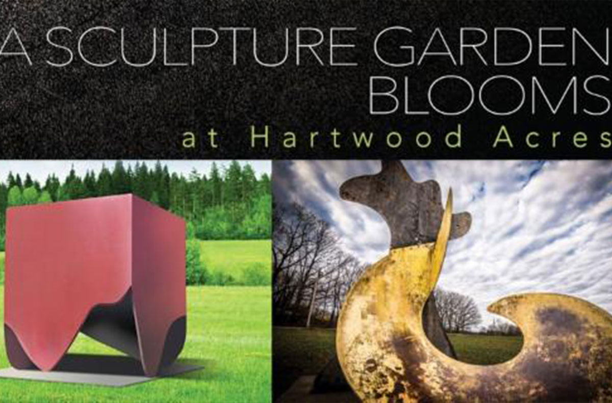 A sculpture Garden Blooms at Hartwood Acres