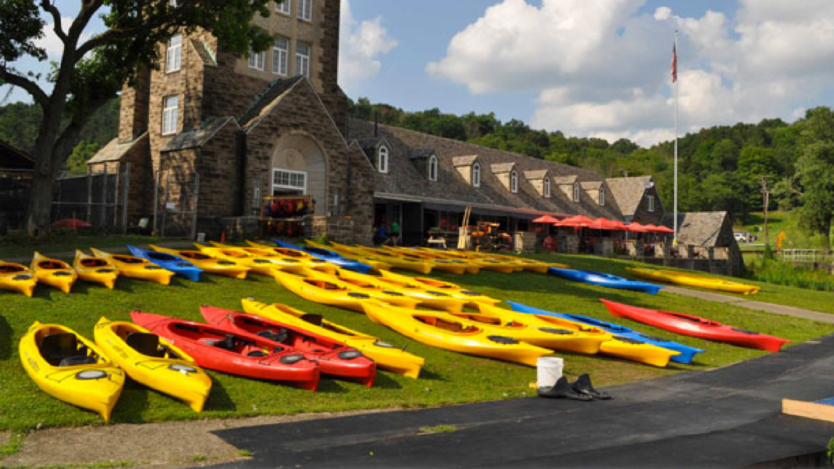 Canoes at the Park