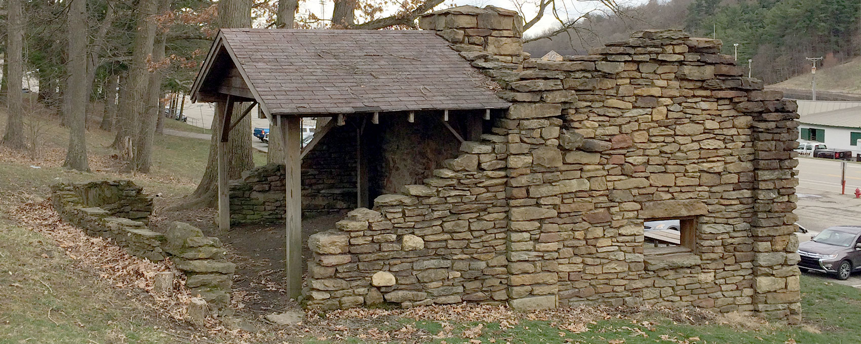 Nevin Shelter. Allegheny County Parks. Pittsburgh PA